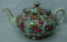 "LORD NELSON china MARINA pattern full-sized Teapot & Lid - 4-1/4"" - 4 cups"