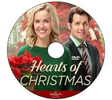 HEARTS OF CHRISTMAS 2016 DVD HALLMARK MOVIE No Case/Art-DiscOnly