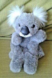 "Koala Bear Hand Puppet With Feet 9"" Korimco Soft Toy Plush Comforter Hand Wash"