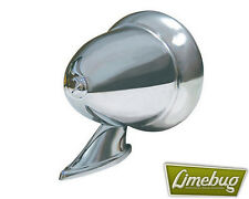 Bullet Wing Mirror Fender Chrome Universal VW Beetle Buggy Caddy Hotrod Large