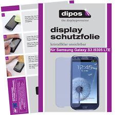 2x Samsung Galaxy s3 i9305 LTE protectoras TRANSPARENTES para protector de pantalla Lámina Display