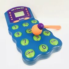 Learning Resources Light 'N' Strike Math Game Electronic Fun Arcade Educational