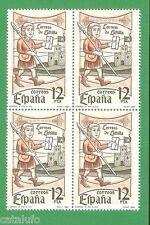 Spain Edifil 2621 ** MNH  Día del Sello  BLOQUE DE 4