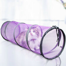 VENTILATO TUNNEL PER Gatti Giocattoli RICHIUDIBILE lungo animale domestico