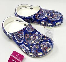 Crocs Vera Bradley Classic Paisley Clog Womens size 8 Mens size 6 HARD TO FIND!!