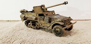 BUILT 1/35 GERMAN CAPTURED US ARMY HALFTRACK WW2 PROFESSIONALLY BUILT