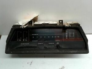 Speedometer Digital Cluster MPH 2WD 4 Door GL-10 Fits 87 SUBARU PASS. 41587