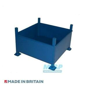 Large Metal Stillage with Solid Sides - Made in the UK - £110+VAT