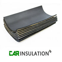 8 Sheets Car Sound Proofing Deadening Vehicle Insulation Closed Cell Foam 10mm