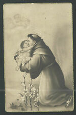 Postale Ancienne de San Antonio de Padua  andachtsbild santino holy card