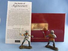 Soldats de plomb BRITAINS 17685 Knights of Agincourt - 2 chevaliers d'Azincourt