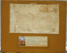 1781 Document Signed 34 Days after the Articles of Confederation by John May