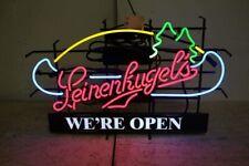 """New Leinenkugel''s We are Open B Beer Bar Light Lamp Neon Sign 24""""x20"""""""