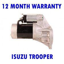 ISUZU TROOPER 2.8 TD 1987 1988 1989 - 1991 REMANUFACTURED STARTER MOTOR