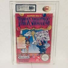 Barker Bill's Trick ShootIng Graded UKG 90+ Nintendo Nes Sealed VGA