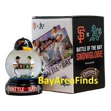 San Francisco Giants Battle of the Bay Snowglobe 7/15/2018 SGA Oakland A's