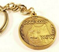 DOGECOIN Commemorative & Collectible 3D keychain ! 2014 , RARE! MANY WOWz
