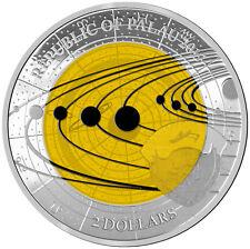 2 $2017 Palau-Solar System-Saturne Niobium