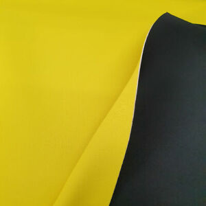 Neoprene Fabric Two Colour 140cm Wide Sold By The Metre 4 Colour Variations.