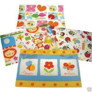 4Stück Kinder Platzdeckchen Tischset Kindermotive 44x28cm 4f.Blumen+Tiere 66368