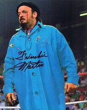 Frenchie Martin Autographed Signed 8x10 Photo w/Coa - Wwe Wwf Wrestling
