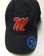 Ole Miss Rebels Top Of The World Hat New M Script Logo New With Tags