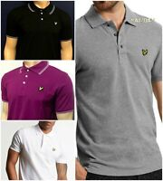 Men's Lyle and Scott Short Sleeve Polo Shirt HUGE Clarence Sale !!