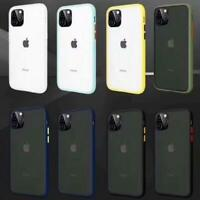 For Apple Iphone 11 Pro Max Armor Rubber Rugged Case Cover With Screen Protector