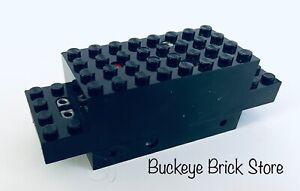 Lego Black Electric Motor 4.5v Type D 12x4x3 1/3 - Train 7722