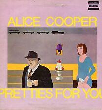 """ALICE COOPER """"PRETTIES FOR YOU"""" ORIG UK 1969 VG+/EX"""