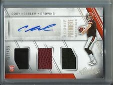 Cody Kessler 2016 Panini Absolute Autograph Game Jersey-Football Rookie #397/499