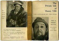 PRIVATE LIFE OF HENRY VIII 1934 Charles Laughton ALEXANDER KORDA Lajos Biro