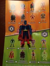 CARTOON NET DC JUSTICE LEAGUE ACTION MIGHTY MINIS HOLO SUPERMAN S2 LOOSE UNUSED