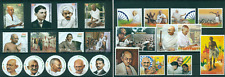 Mahatma Gandhi 150th Anniversary India Independence 25 MNH stamps collection