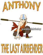 Personalized Avatar The Last Airbender Aang T Shirt Party Favor Birthday Gift