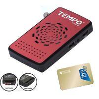 TEMPO CA 410HD + TIVUSAT CARTE Démodulateur satellite FTA CA carte reader