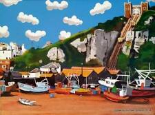 Rock-A-Nor Hastings LIMITED EDITION PRINT BY MICHAEL PRESTON