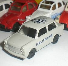 0057 its because west germany ddr trabant auto p 601s traby Germany scale 1:87 oh