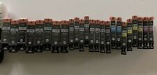 LOT OF 24 CANON 225/226 BLACK/COLOR INK CARTRIDGES