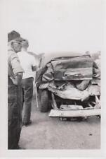 Car Accident June 1, 1962 Snapshots/Photos