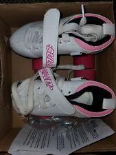 Chicago Ladies Bullet Speed Skates - Size 1 - Pink and White - Ready To Enjoy !