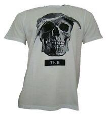 Kurzarm Herren-T-Shirts mit Rundhals Skull