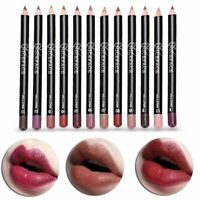 NICEFACE Waterproof Matte Lip Liner Long Lasting Makeup Pencil Lipstick Portable