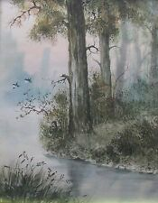 "DONGOM JINCHOW FRAMED VIETNAMESE ""FLYING BIRDS"" 1990"