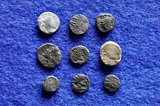 9 Nice Grade Tiny Roman Minum Barbarous Coins Found Metal Detecting In UK