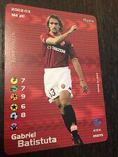 Football Champions -Gabriel Batistuta- Roma - 2002-03 -