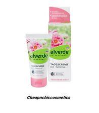 Alverde bio - Crème de jour Wildrose -  Peaux Sèches