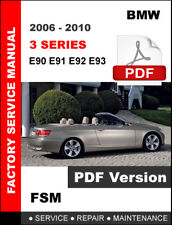 2006 2007 2008 2009 2010 BMW 3 SERIES WORKSHOP SERVICE REPAIR FACTORY MANUAL