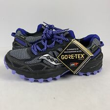 Saucony Mens Grid Excursion TR11 Gore Tex GTX Trail Running Shoes Winter  Sz 5