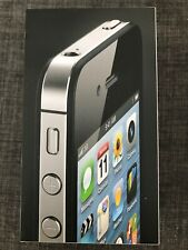 iPhone 4 Black Empty Box Only